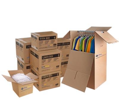 بسته بندی وسایل و اثاثیه منزل