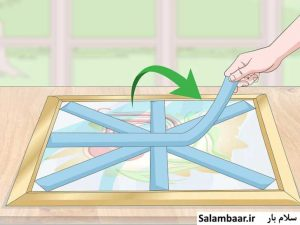 بسته بندی شکستنی، مجسمه و تابلو برای اسباب کشی و باربری