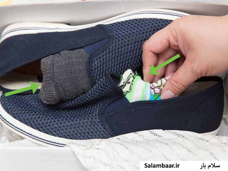 بسته بندی کفش ها