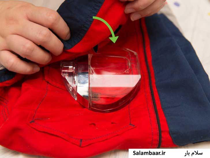استفاده از لباس های کهنه برای بسته بندی شکستنی ها