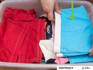 تکنیک های بهینه برای بسته بندی لباس ها در اسباب کشی