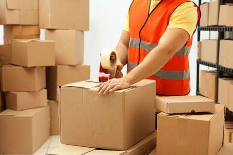 بسته بندی اثاث و لوازم منزل توسط شرکت باربری