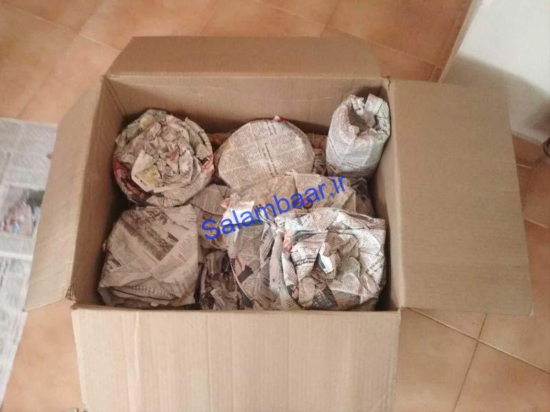 بسته بندی ظروف منزل